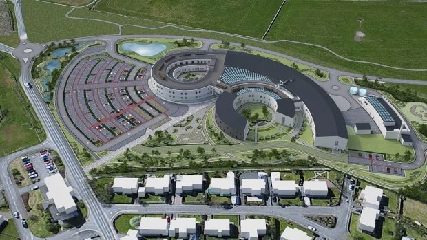 Orkney's new hospital is among projects backed by the Scottish Futures Trust.