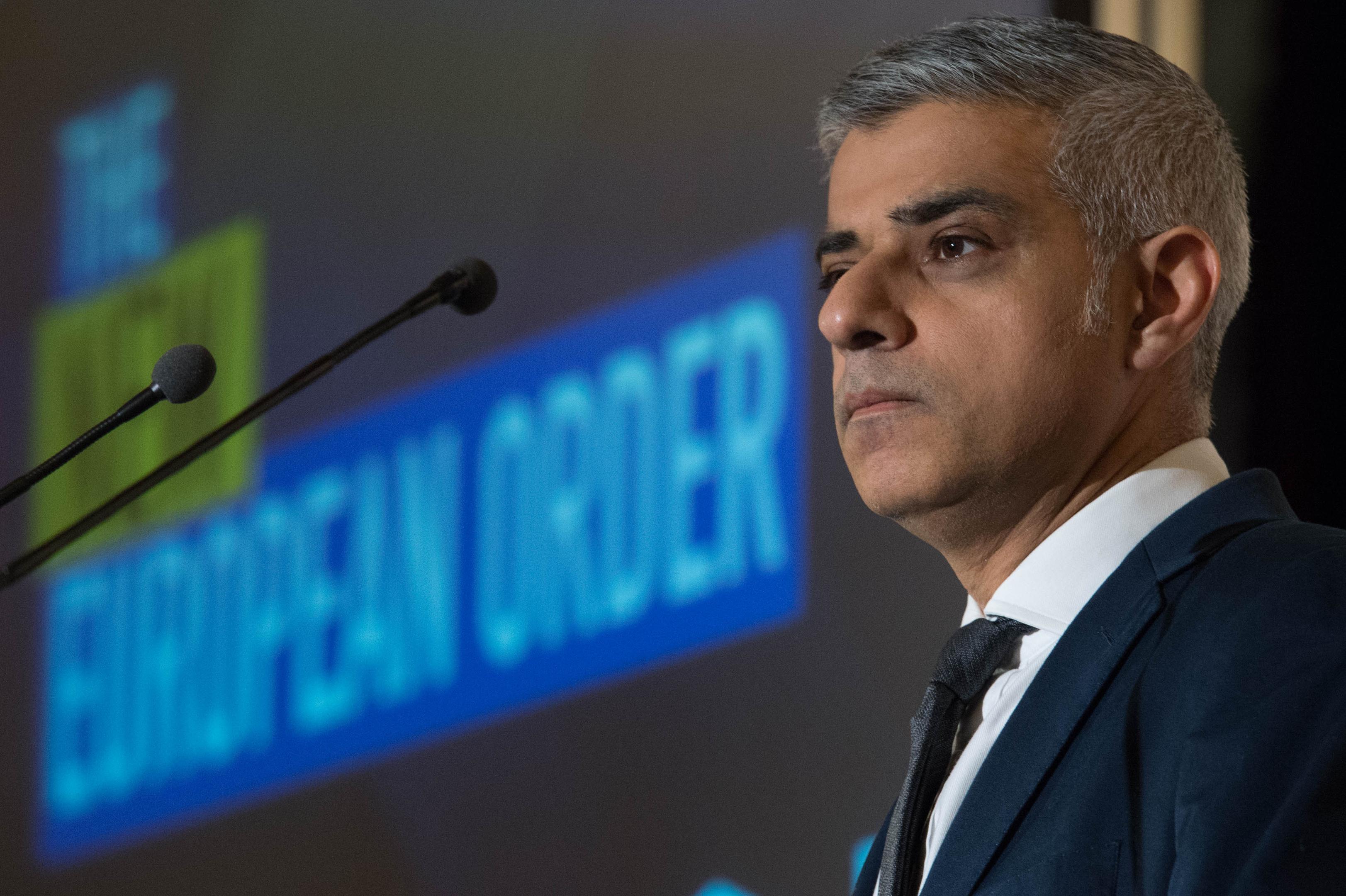 Mayor of London Sadiq Kha