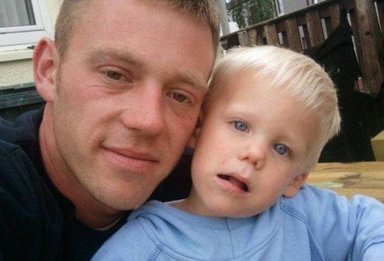 Gavin McQuillan with son Keiran