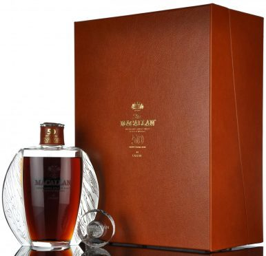 The rare 50-year-old Macallan sold for more than £65,000 at auction.