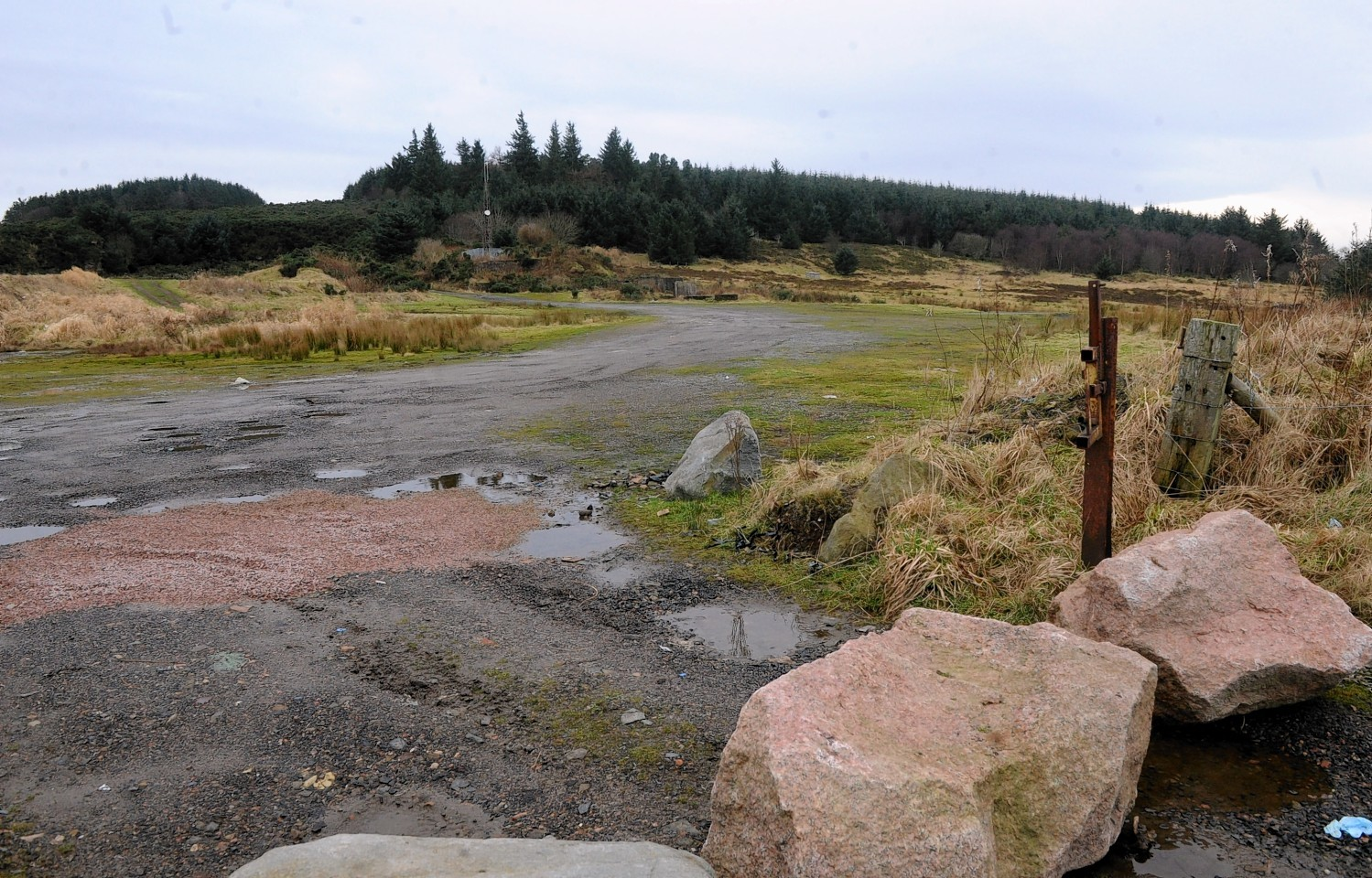 The traveller site would be the second in the region, joining Aikey Brae, pictured.