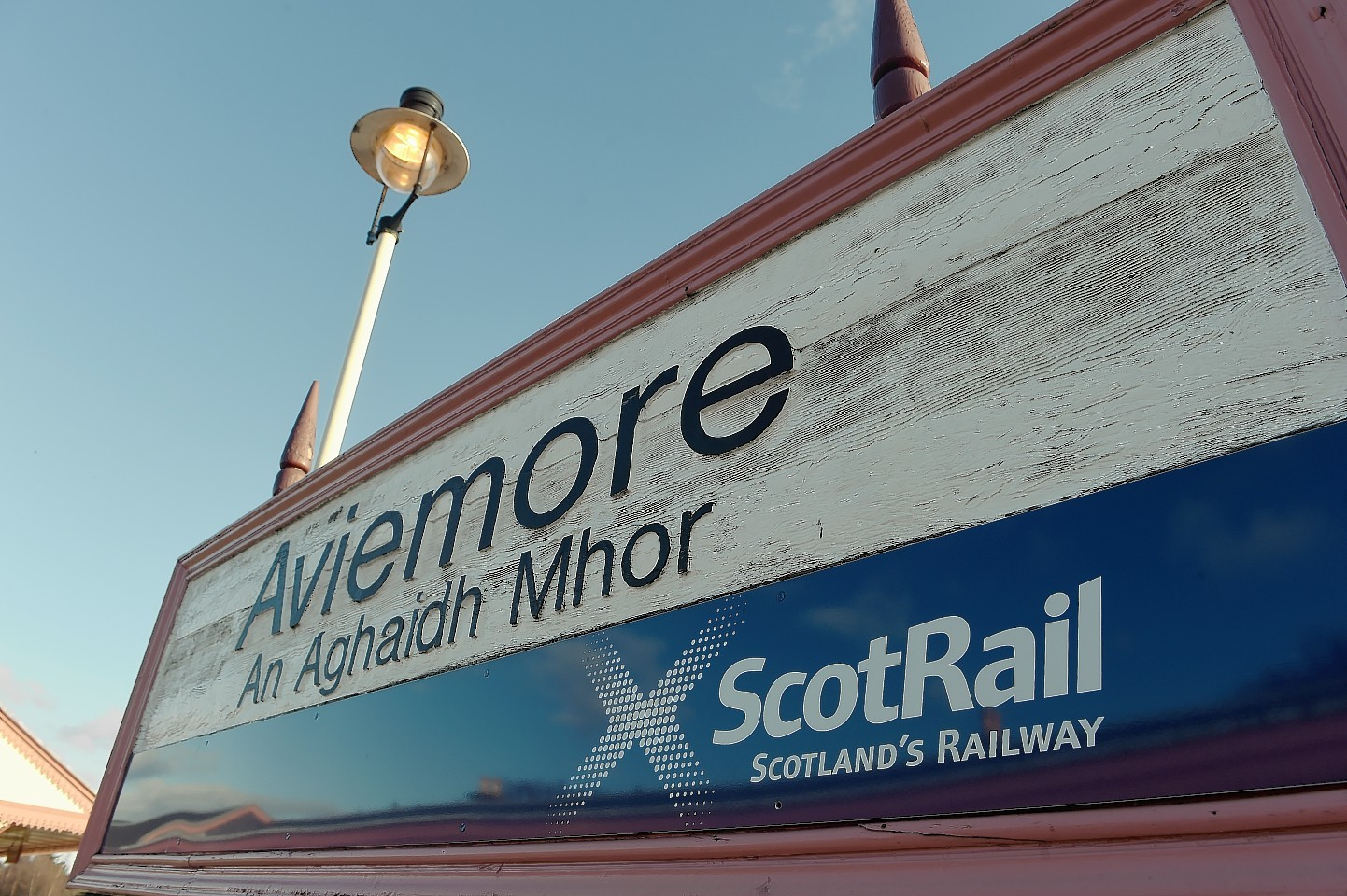 The drugs were stashed at Aviemore Railway Station