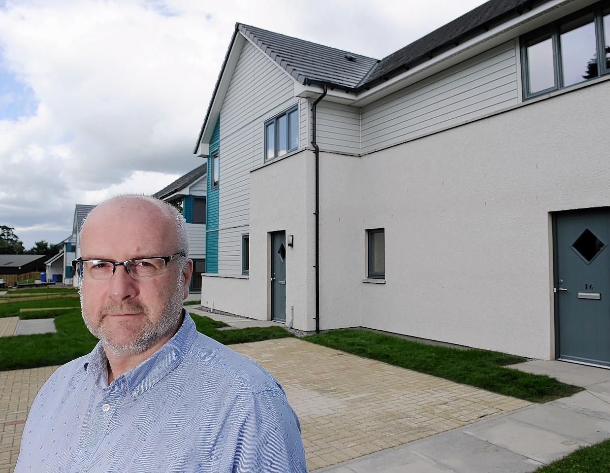 Albyn Housing Society chief executive Calum Macaulay.