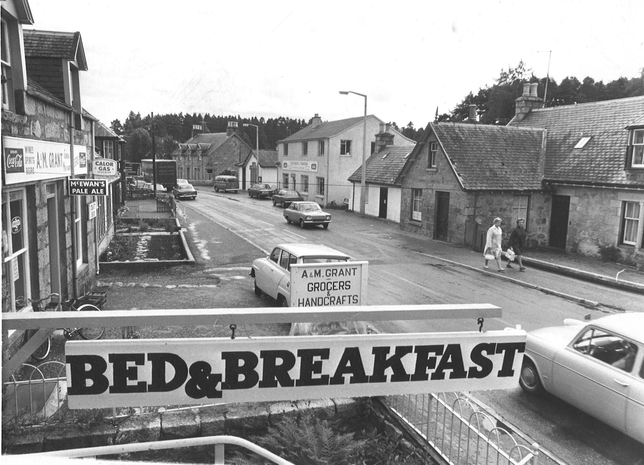 Carrbridge in 1970