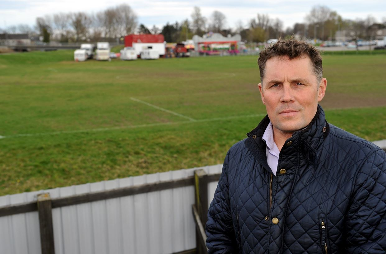 Dave Allen, chairman of the Lesser Borough Briggs Community Trust, is eager to see more sport facilities in Elgin.