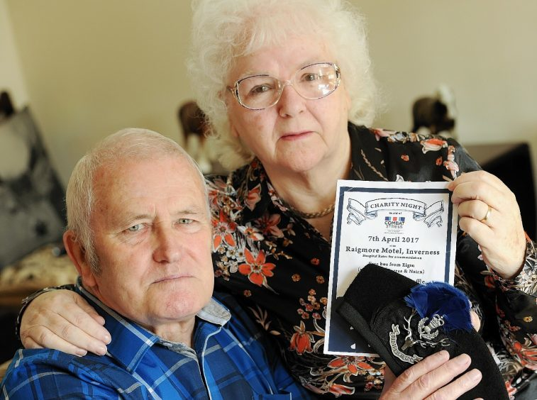 Eric and Mary Macdonald who are organising Friday's charity event.