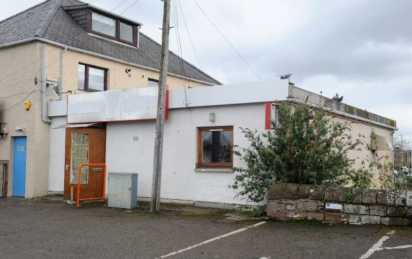 The former premises of Inverness Fireplace and Heating Centre in Telford Street in Inverness.