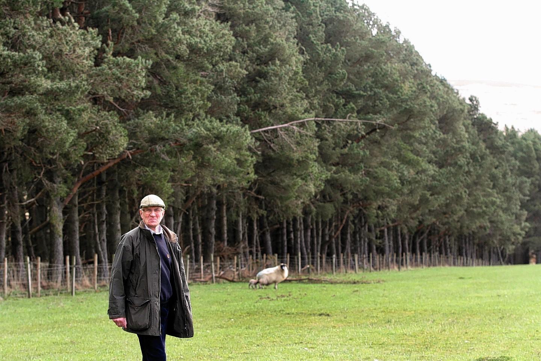 Glen Isla farmer James Ivory