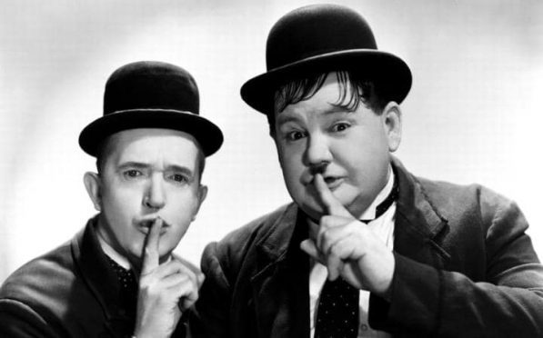 Jon S Baird's new film features the lives of Laurel & Hardy.