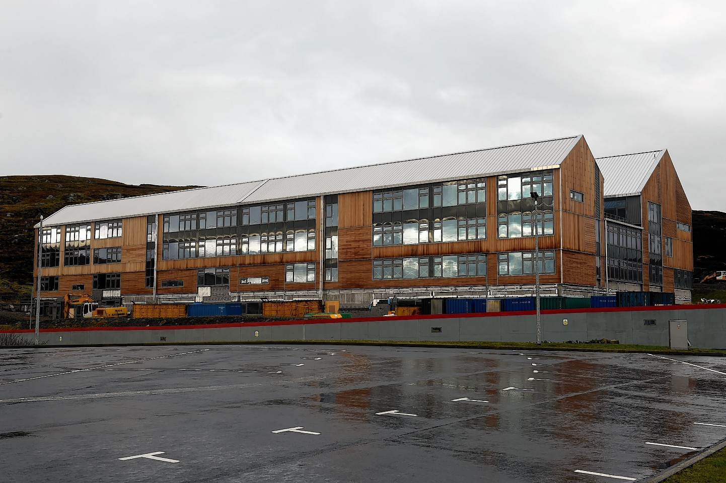Anderson High School in Lerwick. Picture by Kenny Elrick