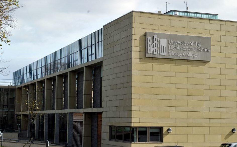 Moray College UHI in Elgin.