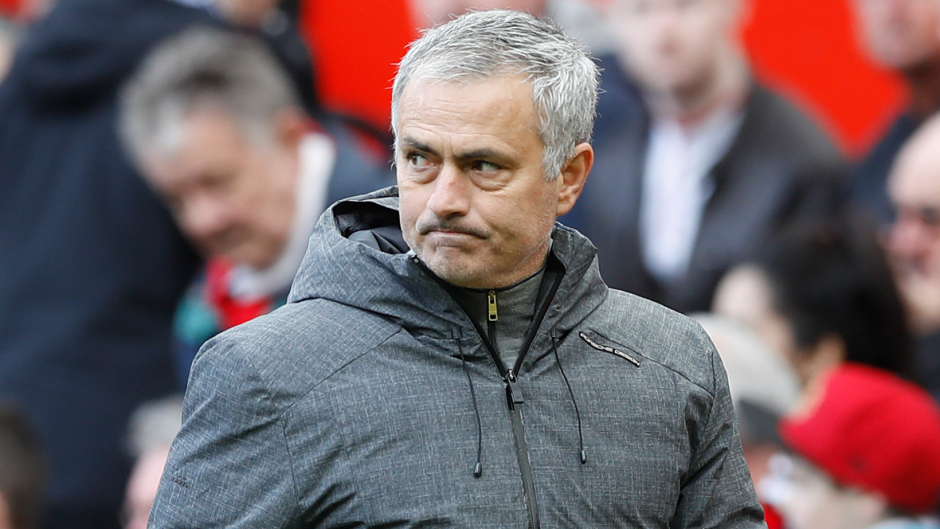 Manchester United manager Jose Mourinho had been in charge for two-and-a-half years.