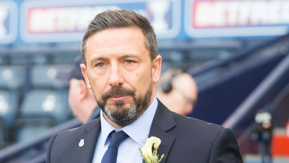 Derek McInnes has been absent from Aberdeen for the last two days.