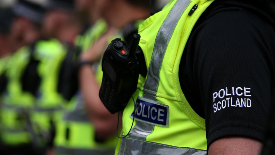Following the drugs search two people were arrested.