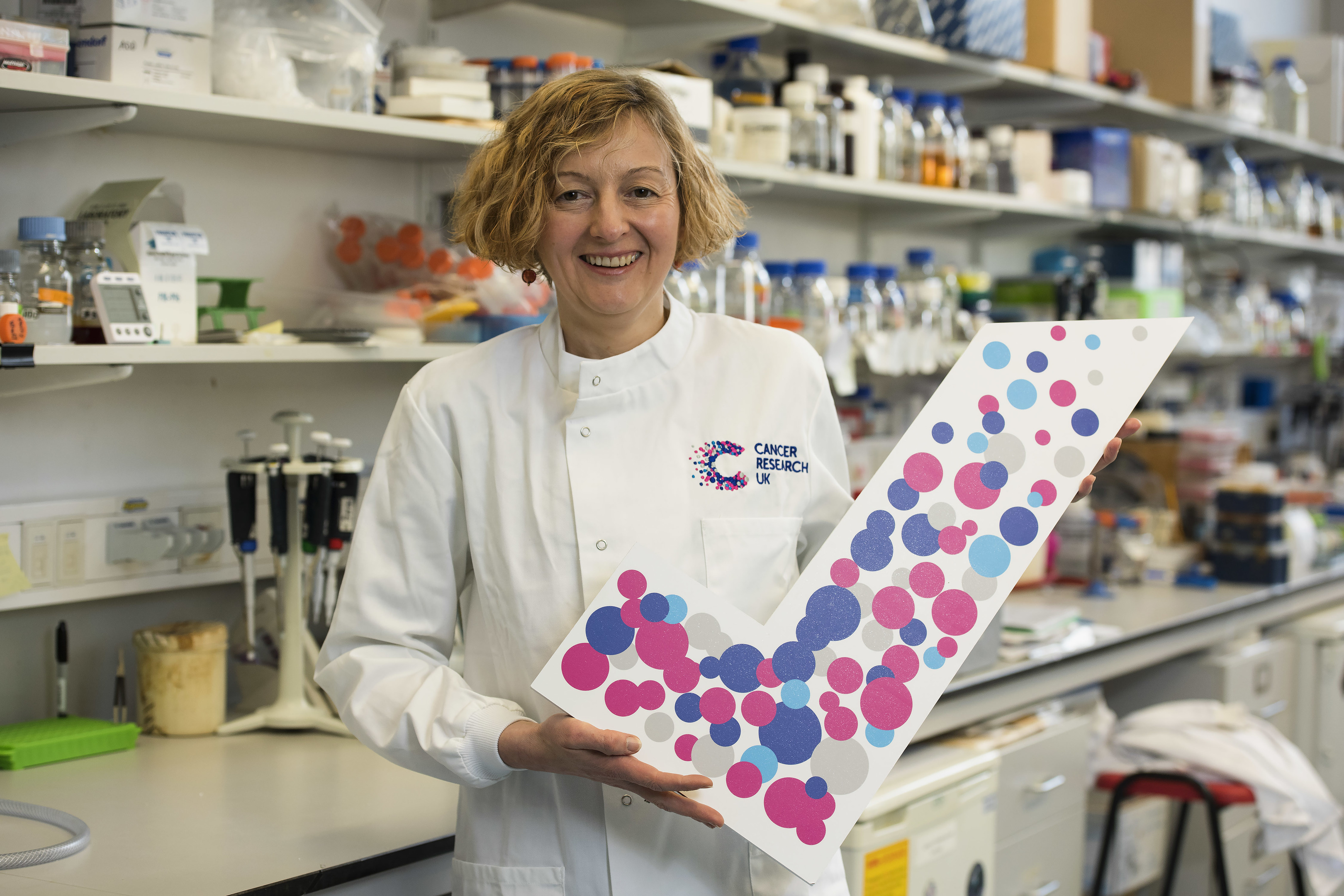 Professor Anne Donaldson from Aberdeen University has backed the just a tick campaign.