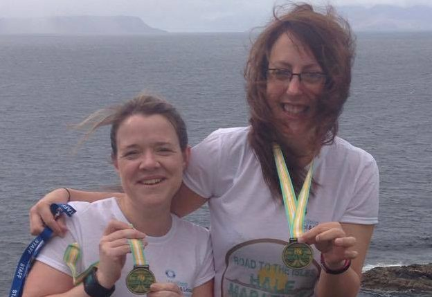 Paula Wilkinson, centre manager and assistant manager, Mairi Morrison