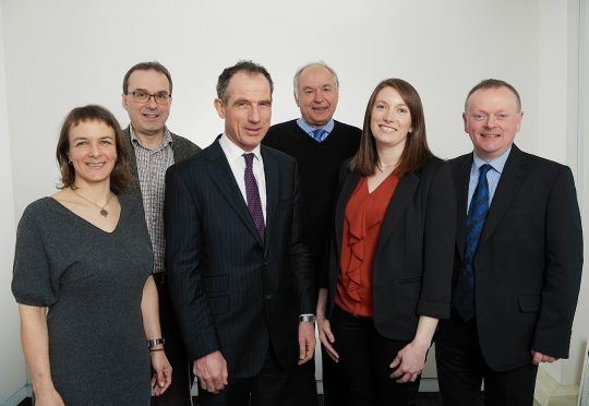 The new Scottish land commissioners.  From left to right - Megan MacInnes, Professor David Adams, Andrew Thin (Chair), Bob McIntosh (Tenant Farming Commissioner), Dr Sally Reynolds and Lorne MacLeod   Name:  Scottish Land Commission.jpg Caption: Land Commission board portraits The new Scottish land commissioners.  From left to right - Megan MacInnes, Professor David Adams, Andrew Thin (Chair), Bob McIntosh (Tenant Farming Commissioner), Dr Sally Reynolds and Lorne MacLeod.