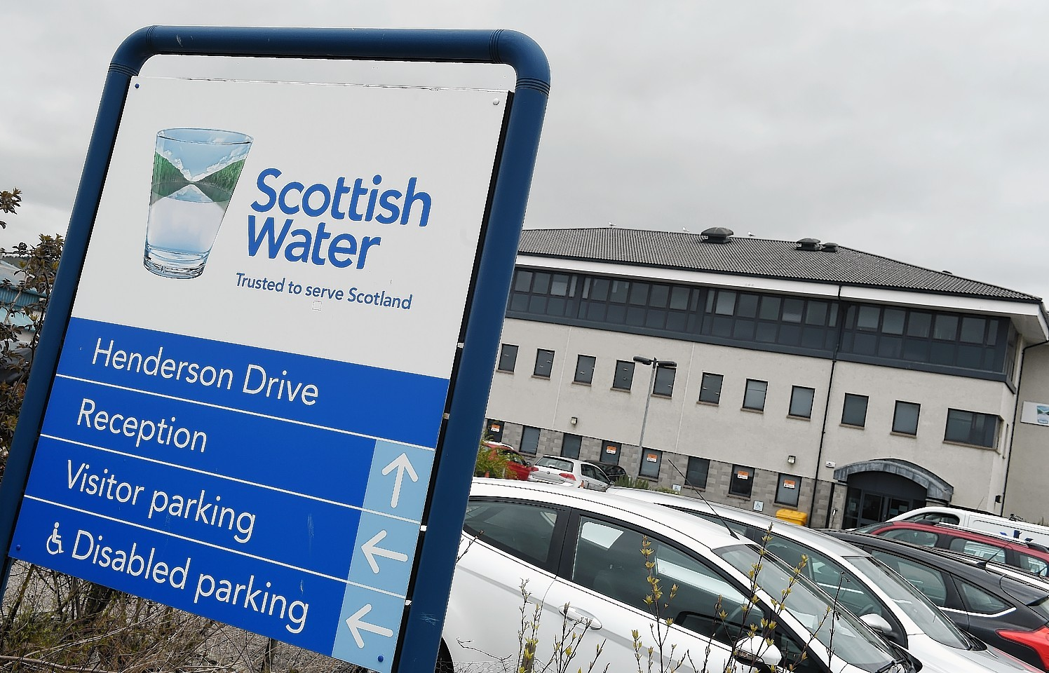 Scottish Water HQ in, Inverness