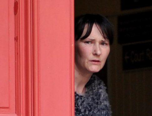 Sharon Geddes was jailed at Elgin Sheriff Court.