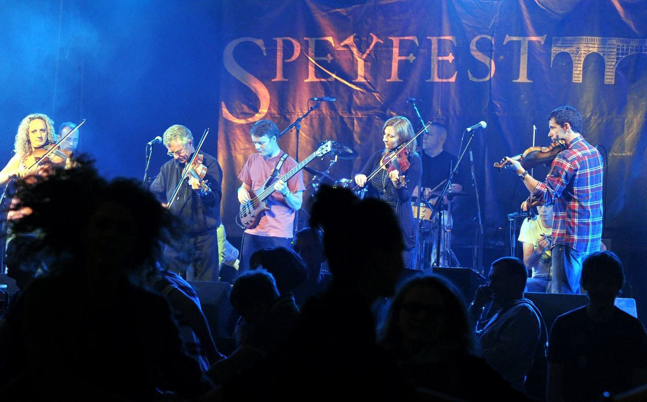 Speyfest features traditional music across a three-day bill.