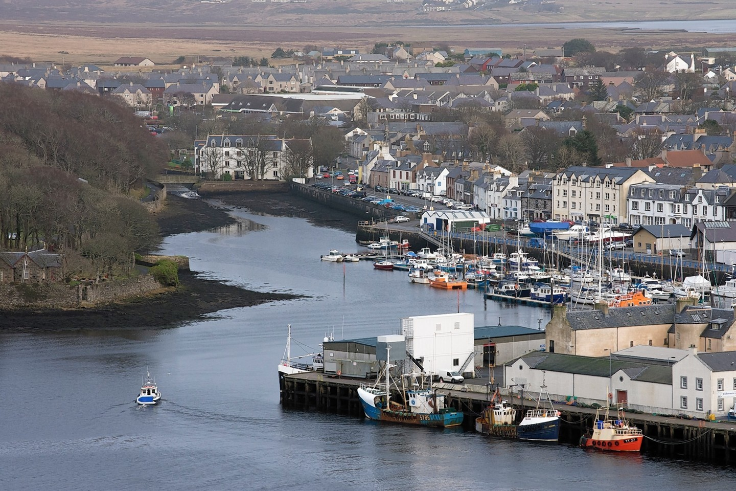 Stornoway on the Isle of Lewis