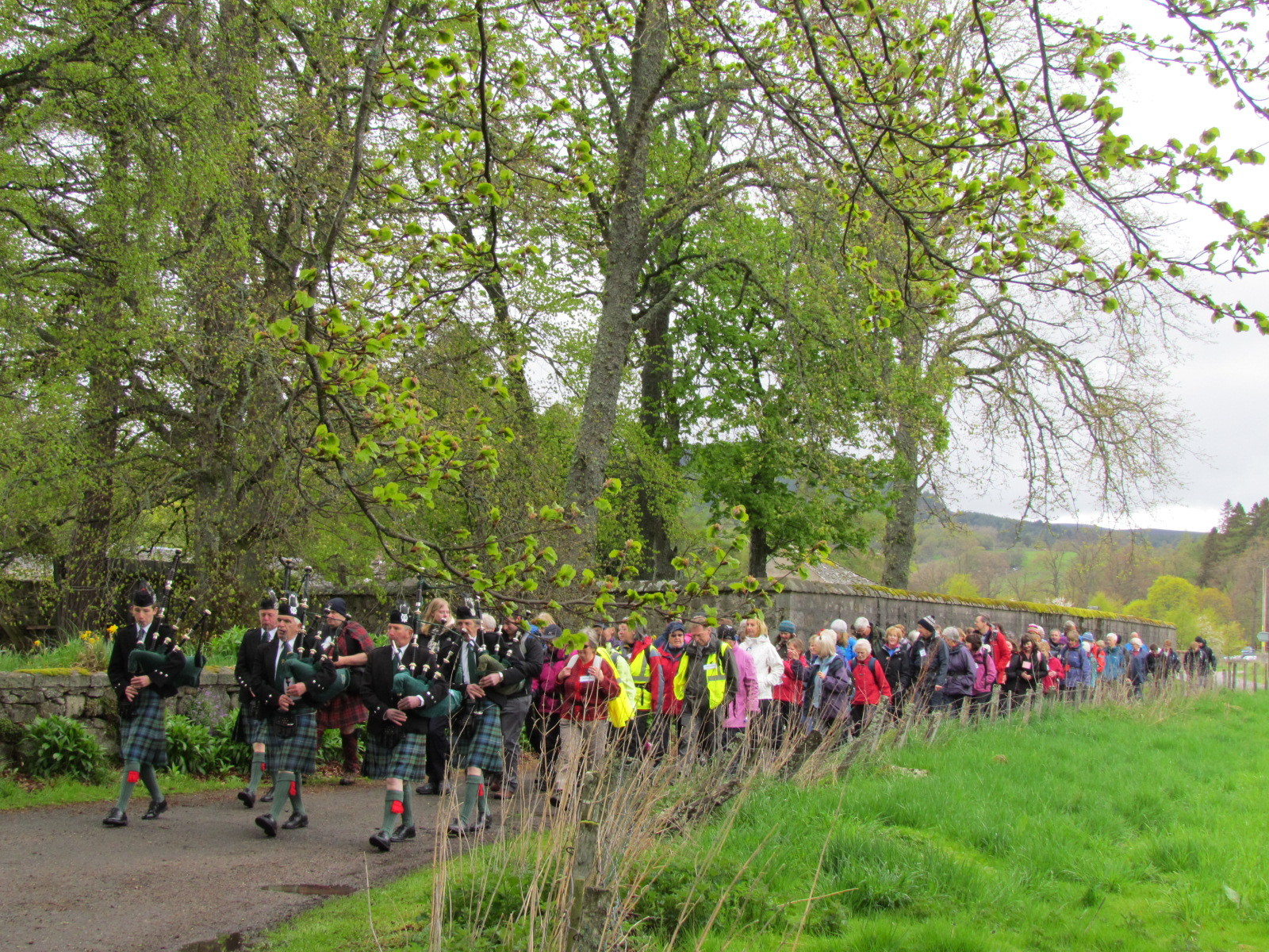 People are urged to get involved in this year's Tartan Trek.
