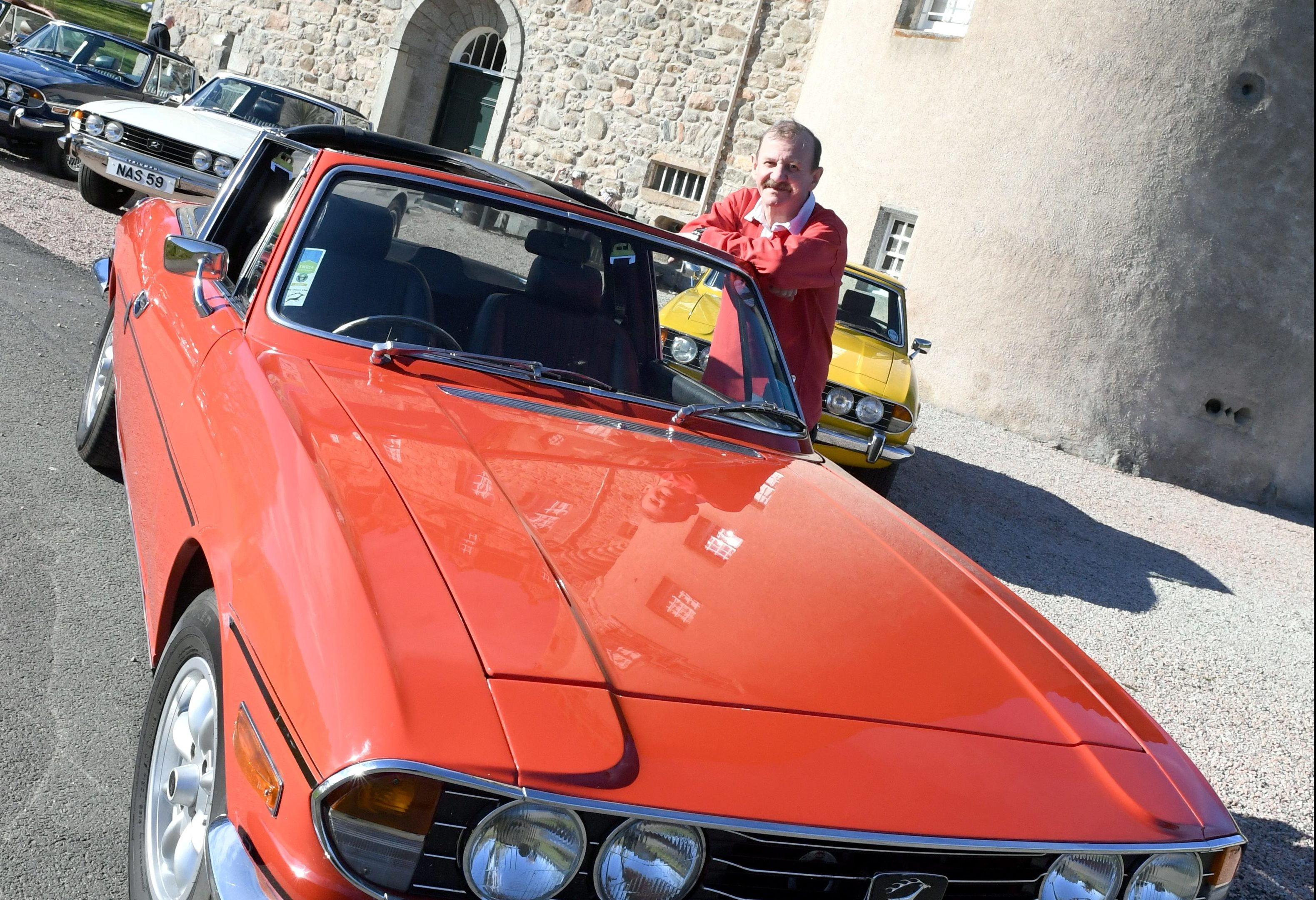 Alan Sharpe and his 1977 stag. Pictures by Kami Thomson