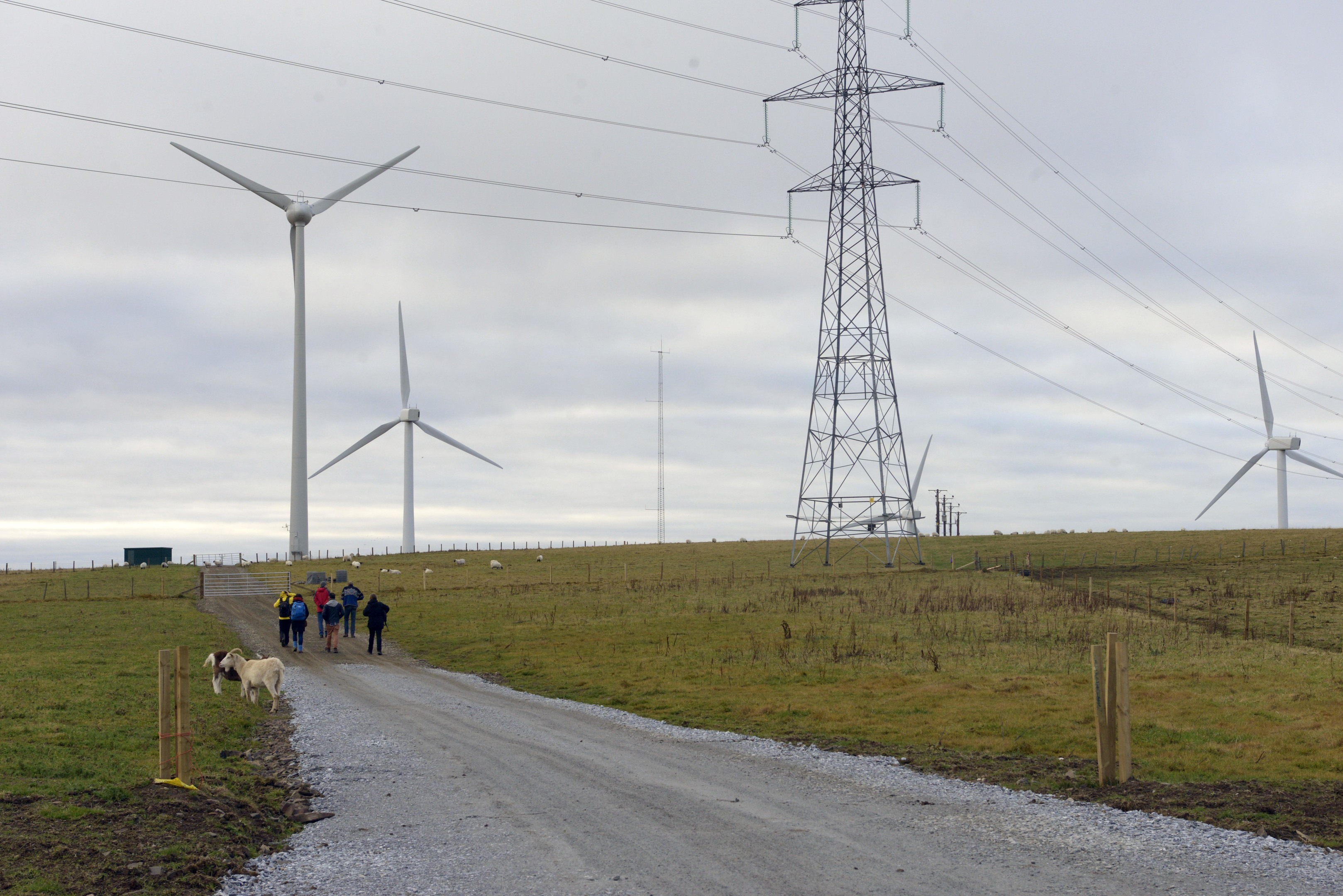 Walking thorugh places of Energy. Slow Marathon 2017. photo Alan Dimmick