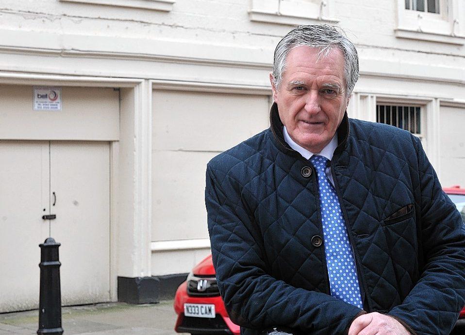 John Cowe, chairman of Moray Council's economic development committee.