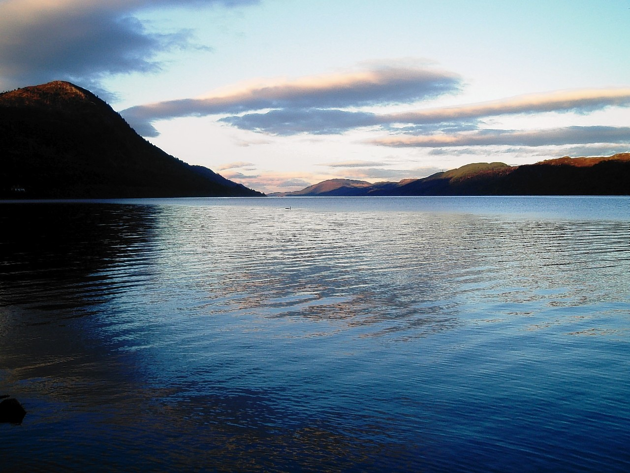 Not everything is tranquil around Loch Ness.