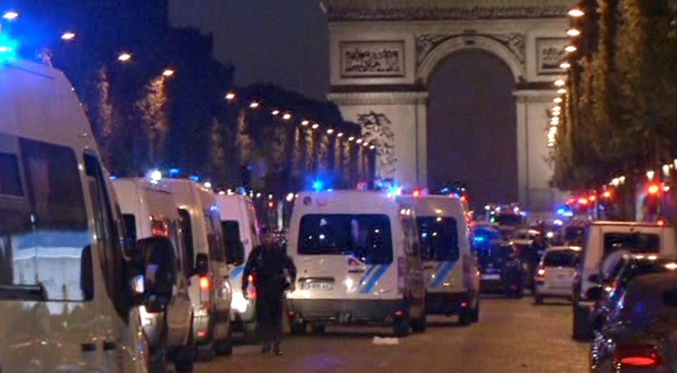 A police officer and gunman are dead following a Paris shooting incident (AP Photo)