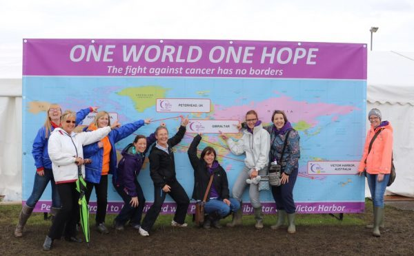 The HK2 Relay for Life team from Peterhead.