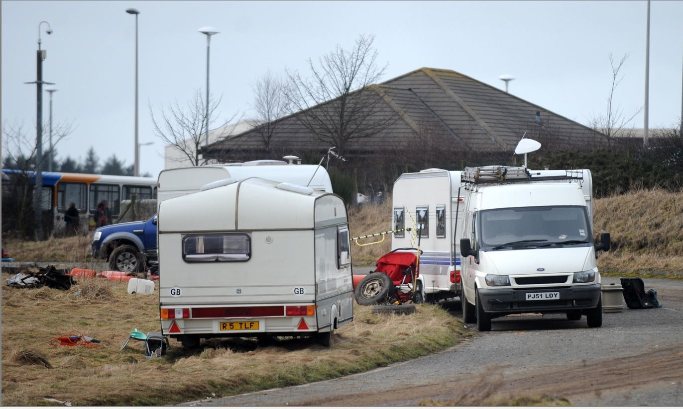 Sixty-one unauthorised camp sites have been reported this year already.