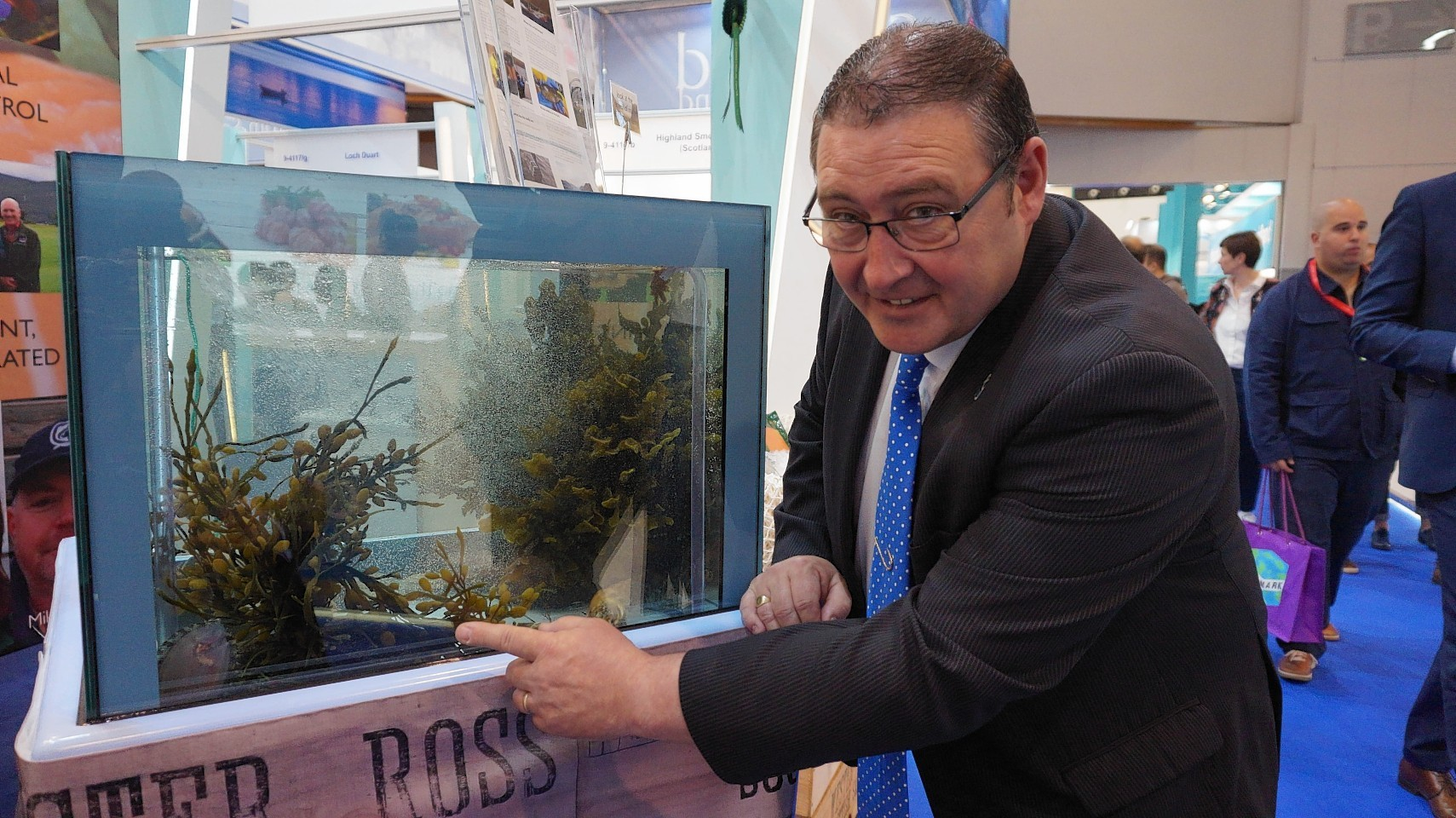 North-east skipper Jimmy Buchan takes a look at the Wester Ross Salmon aquarium