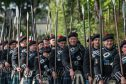 This year will be the first time the Lonach Highlanders march on the Edinburgh Tattoo