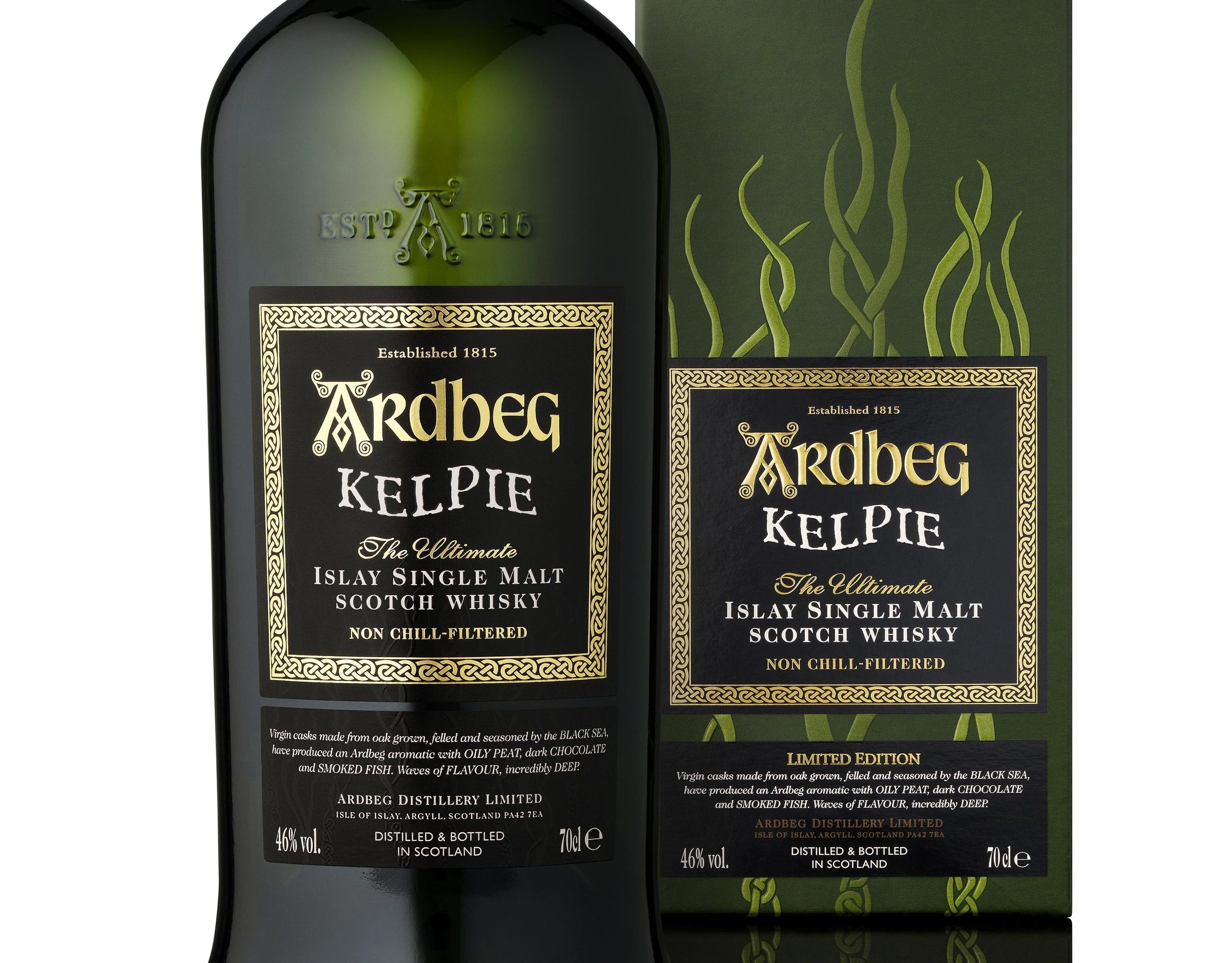 Ardbeg Kelpie took the top award at the International Whisky Competition.