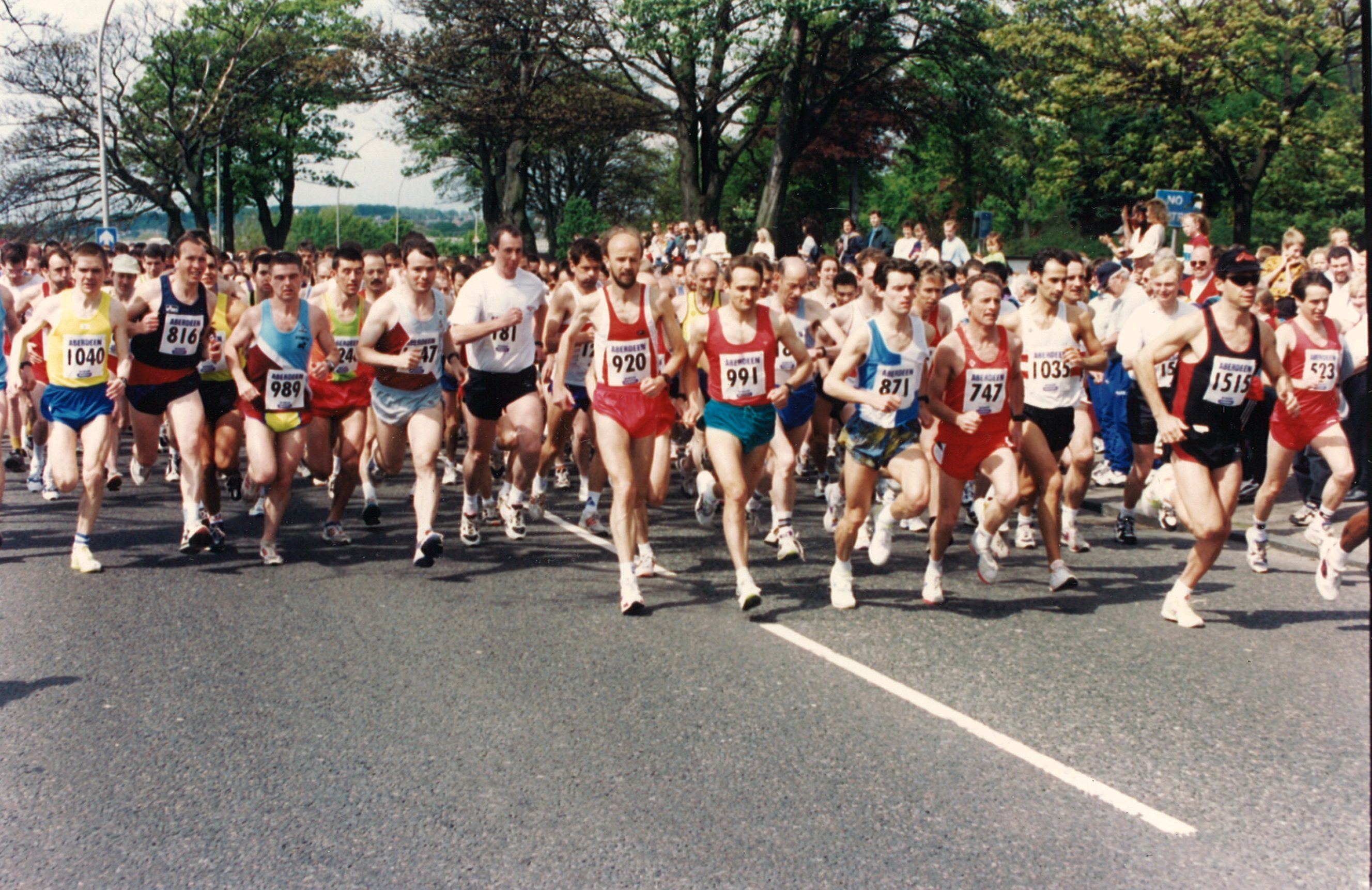 The start of the 10k in 1997