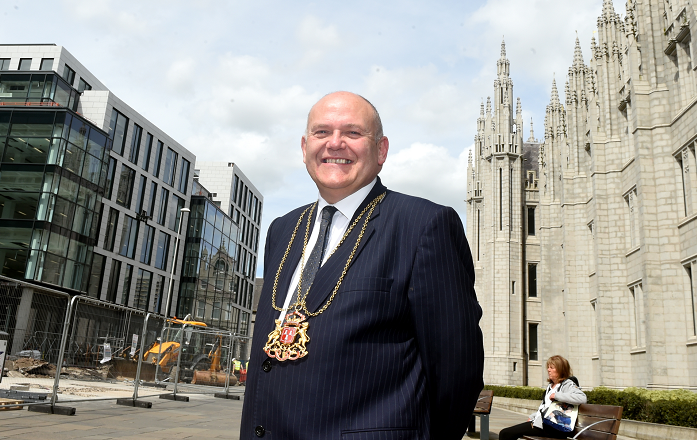 Lord Provost Barney Crockett