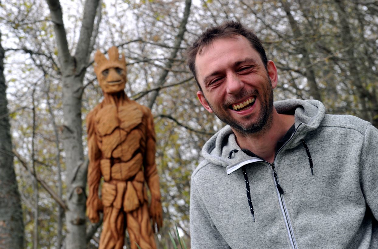 Garry Shand is now working out of a new workshop near his Drummuir home.