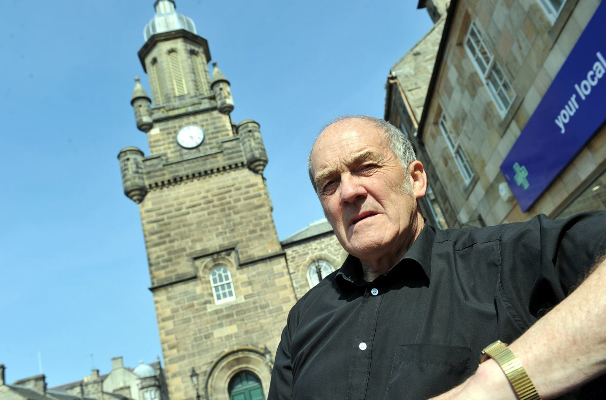 Moray Council leader George Alexander is one of five councillors that has stepped down.