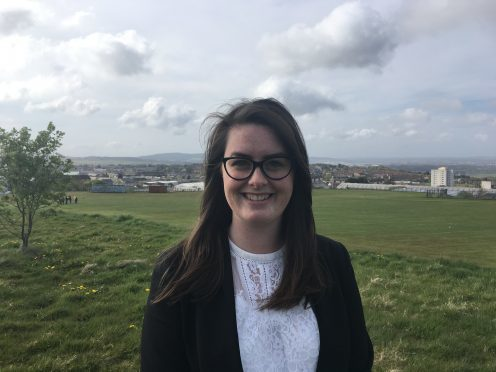 Grace O'Keeffe is standing for the Tories in Aberdeen North.