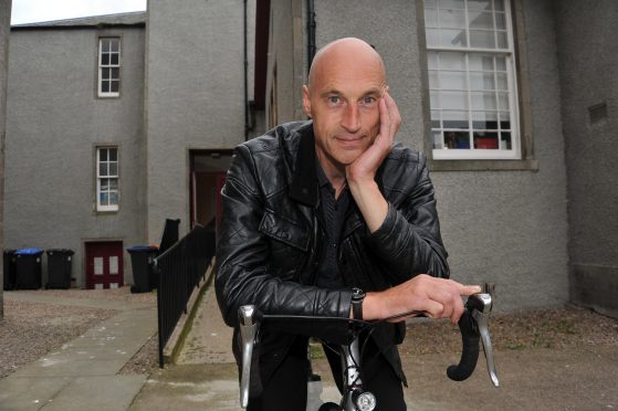 Cyclist Graeme Obree