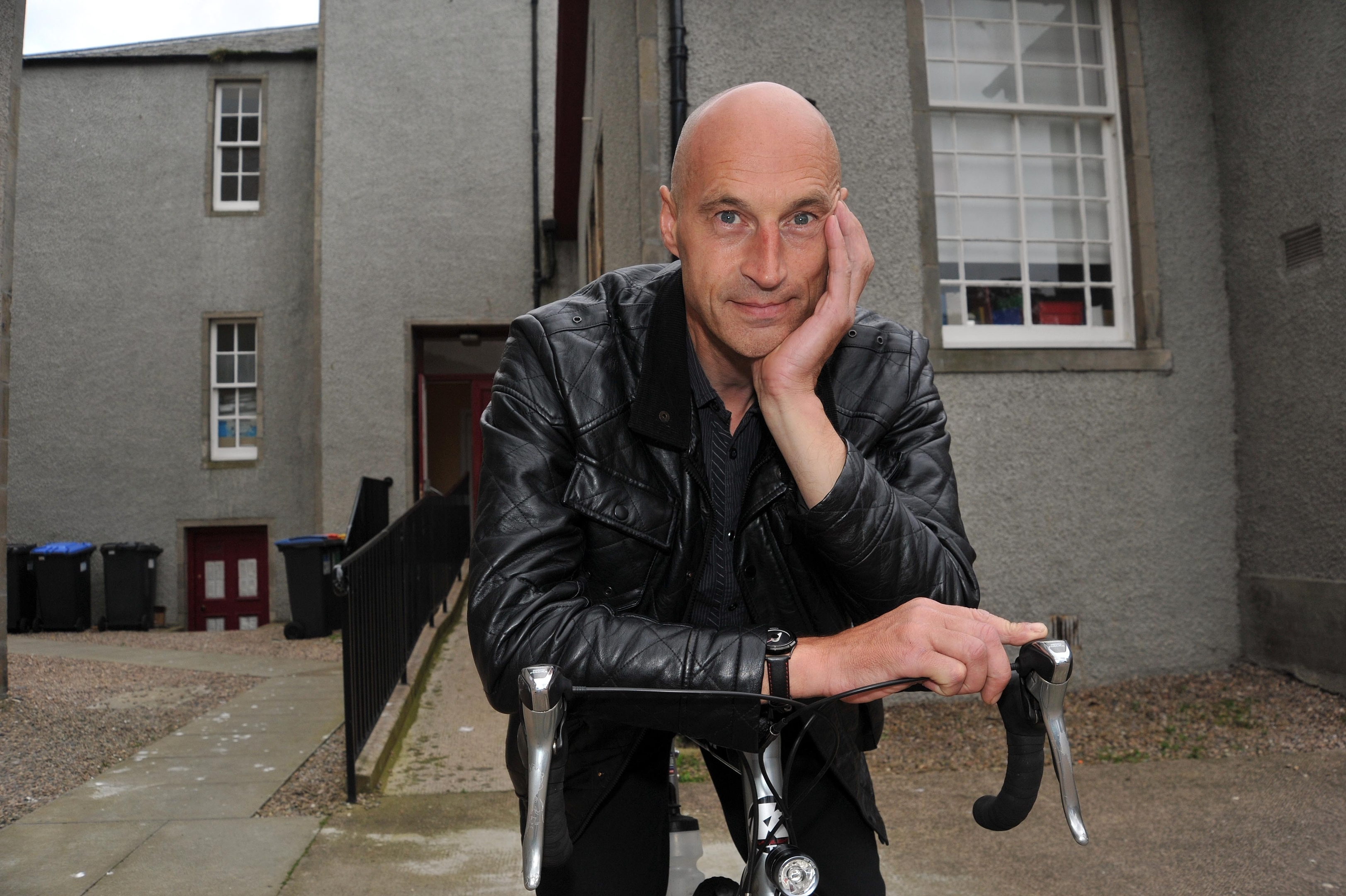 Cyclist Graeme Obree became a world record breaker in the 1990s.