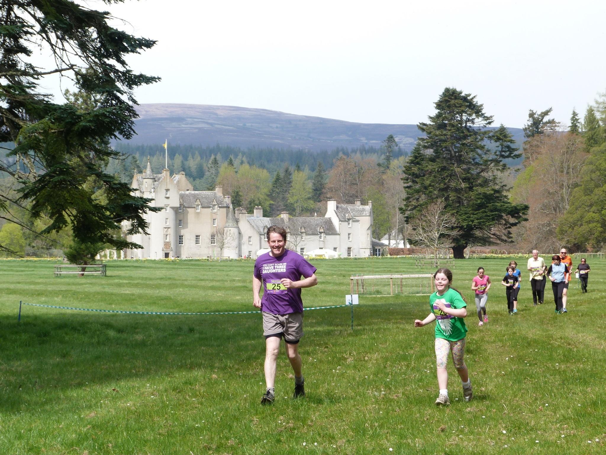 Competitors at last year's fun run