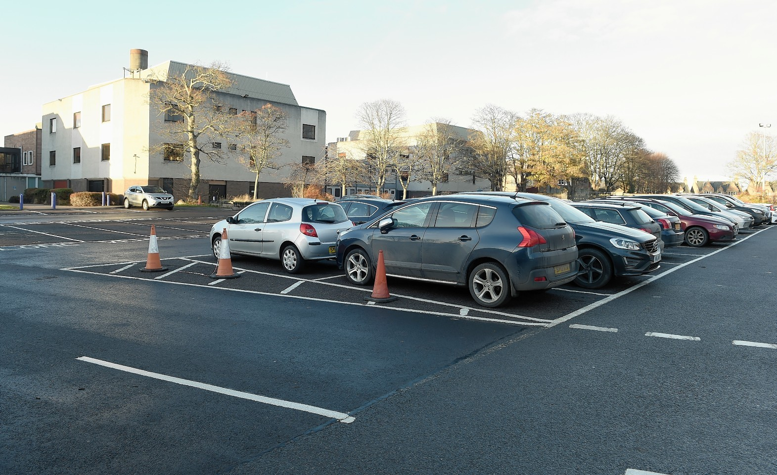 Highland Council car park at Glenurquart Road, Inverness
