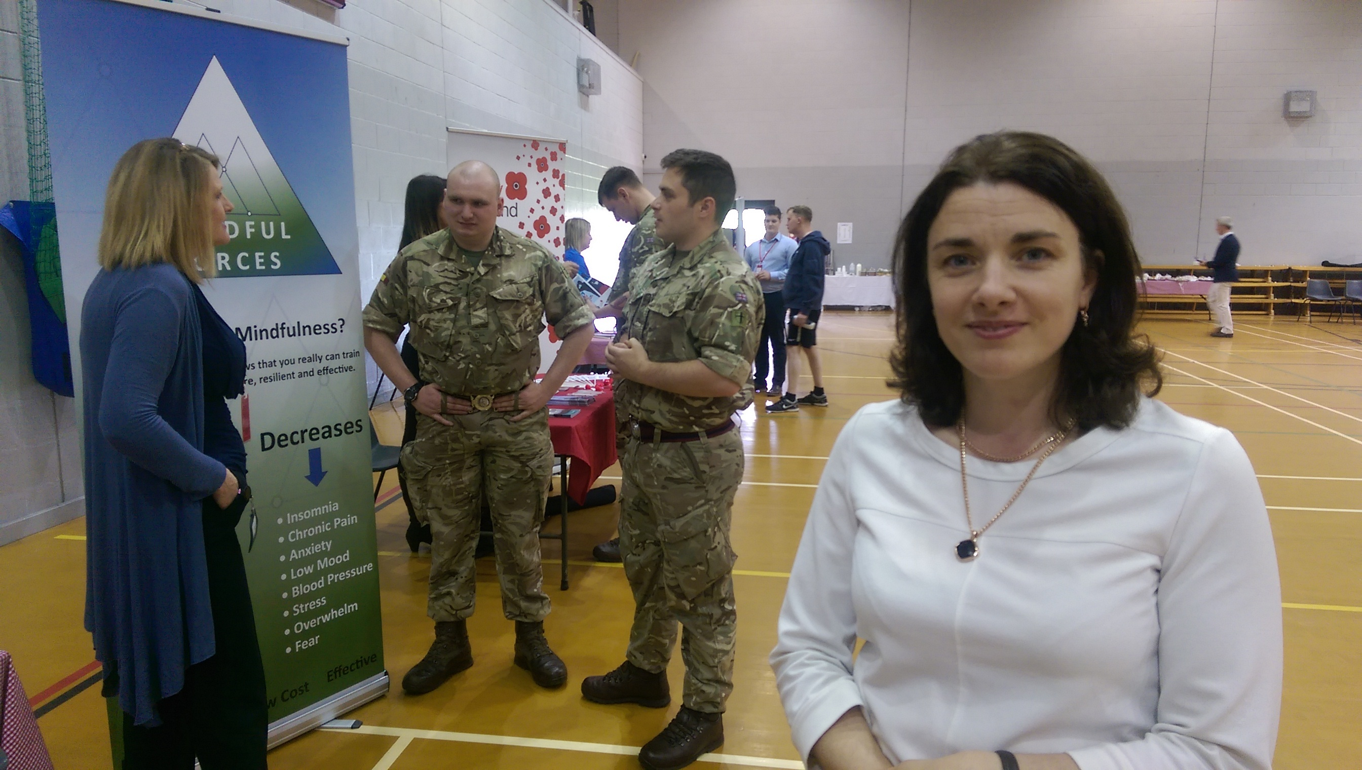 Kinloss Barracks staff officer Ruth Douglas is eager to see forces personnel make the most of Moray.