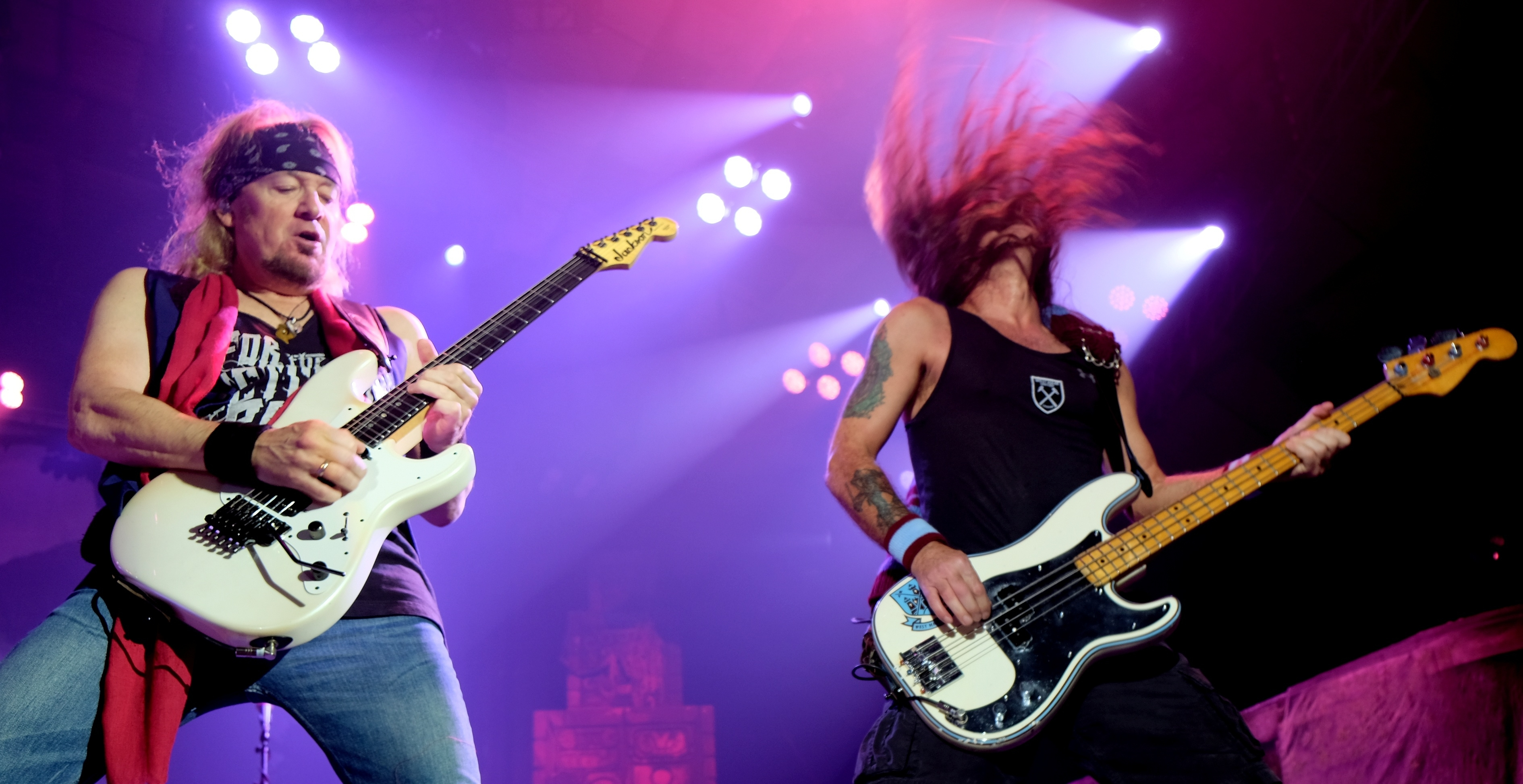 Iron Maiden at AECC in Aberdeen. Pictures by Colin Rennie.