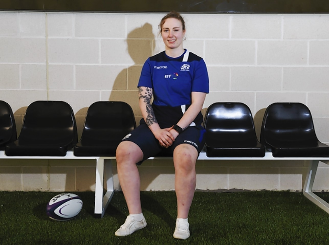 Scotland back-row Jade Konkel.