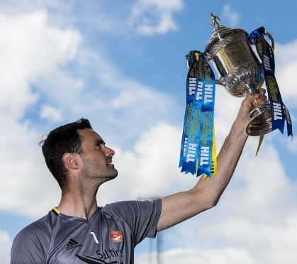 Joe Lewis has Scottish Cup glory in his sights