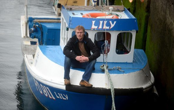 Buckie fisherman Lee Brown fears he could lose up to £40,000 over the next three years.